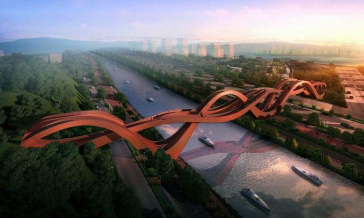 Самые необычные пешеходные мосты мира, 20 фото