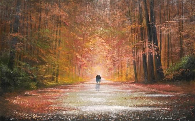 Картины художников, влюбленных в дождь