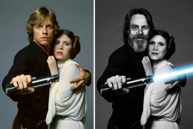 """Актёры """"Звёздных войн"""" тогда и сейчас"""