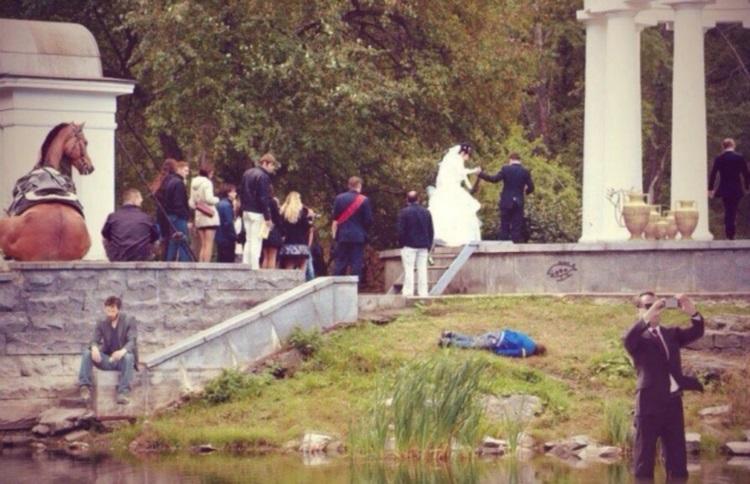 Самые смешные и нелепые свадебные снимки, 50 фото