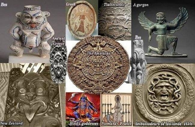10 впечатляющих совпадений древних цивилизаций