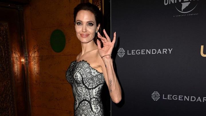 Истощенная Анджелина Джоли находится при смерти