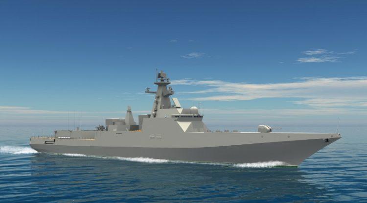 Самые потрясающие военные корабли будущего: 21 фото