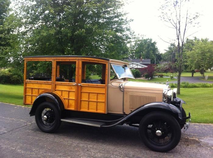 История настоящих деревянных вуди-каров ХХ века в фотографиях