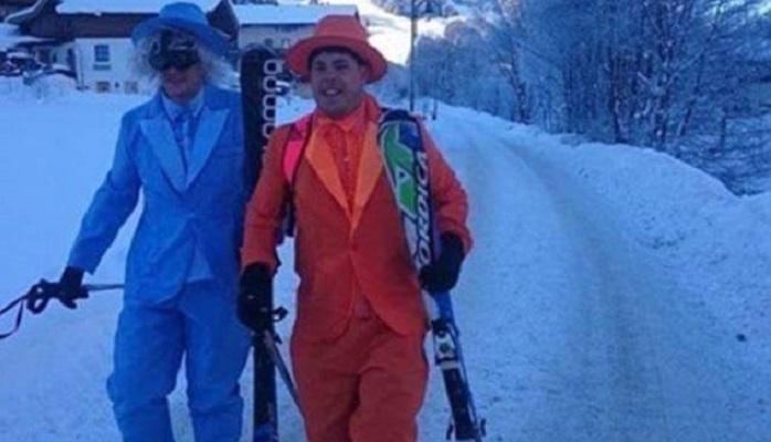 Забавные фотографии с горнолыжных курортов, 20 фото