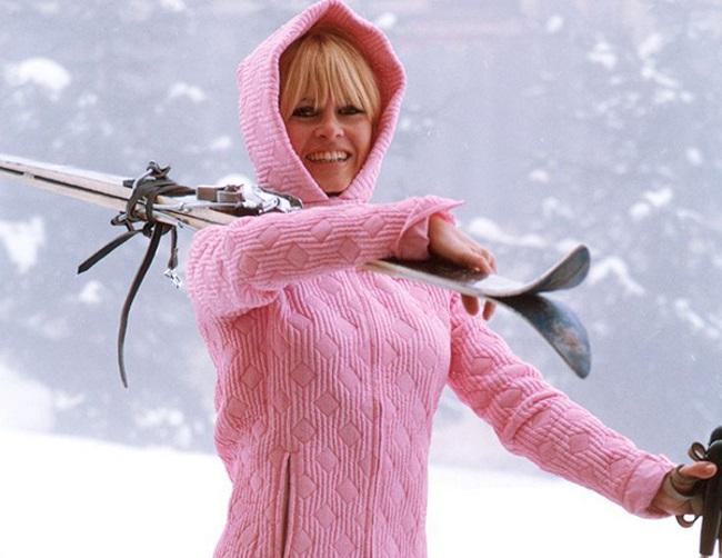 20 редких зимних фото знаменитостей