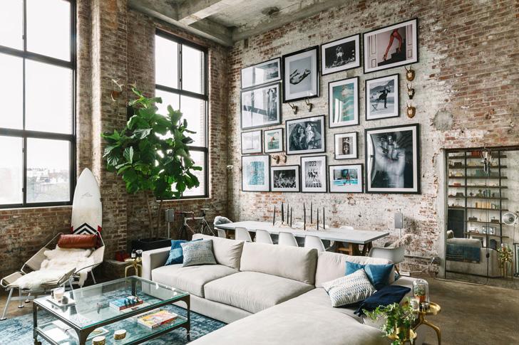 Стиль лофт в интерьере квартиры: 20 фотоидей