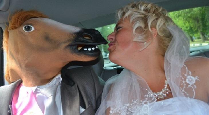 50 смешных свадебных фотографий